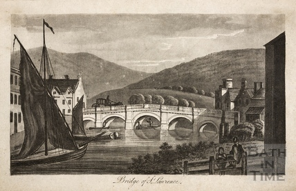 Bridge of St. Laurence (The Old Bridge), Bath 1792