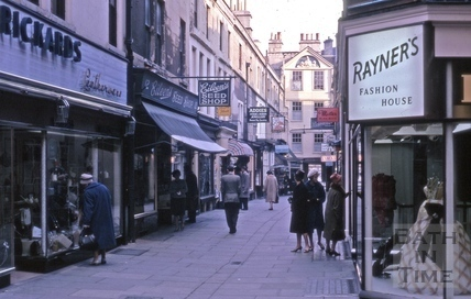 Northumberland Place, Bath 1960s