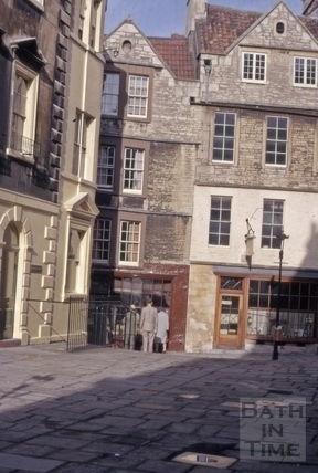 North Parade Passage (Lilliput Alley) from North Parade Buildings), Bath 1962