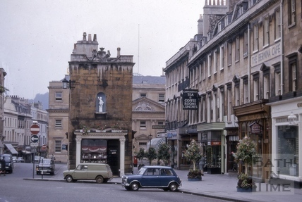 Old Bond Street and the Royal Mineral Water Hospital, Bath 1966