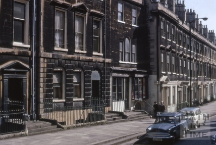 Paragon (Paragon Buildings) and Bladud Buildings, Bath 1970