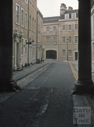 Pierrepont Place and Old Orchard Street, Bath 1973