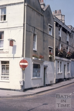 The Griffin, 1, Princes Street, Bath 1975