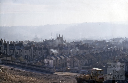 View of Bath from Lansdown Road 1969