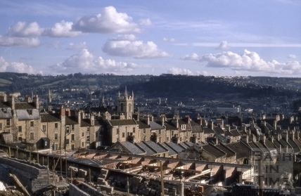 View of Bath from Lansdown Road 1970