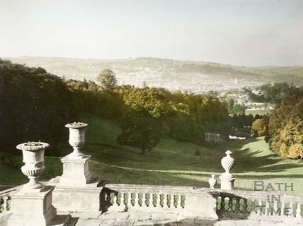 View of Bath from Prior Park 1962