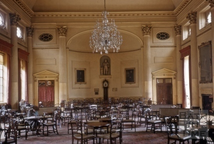 Interior of the Pump Room, Bath 1957