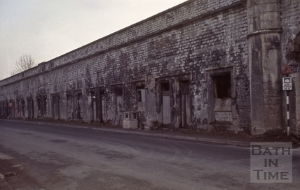 Railway Arches, Twerton, Bath 1966