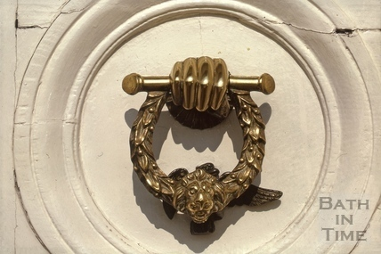 Doorknocker, 10, Raby Place, Bathwick, Bath 1974