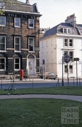 13, Queen Square and 1, Chapel Row, Bath 1969