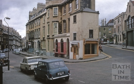 Rivers Street and Julian Road, Bath 1969