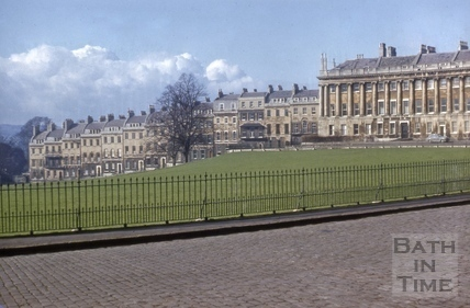 Royal Crescent and Marlborough Buildings 1957