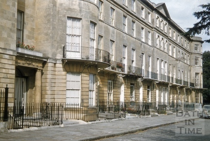 Sion Hill Place from west 1955