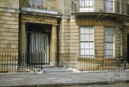 Sion Hill Place doorway No 1 1955