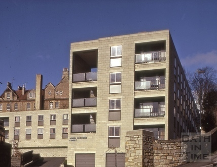 John Slessor Court entrance from Camden Row 1975