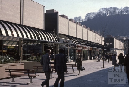 The Southgate Centre, Southgate Street, Bath, 1976