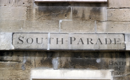 South Parade original lettering? 1955?