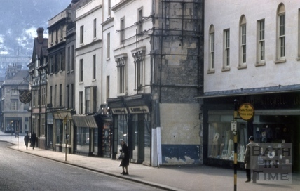 Southgate Street west side from north 1963