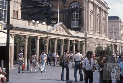 Stall Street Colonnade before Abbey Churchyard 1976