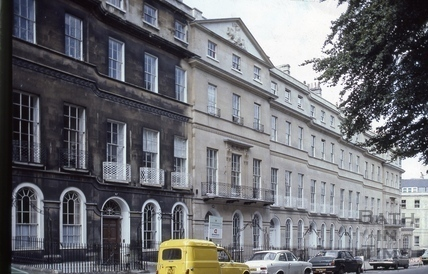 Sydney Place south side half cleaned from the east 1982