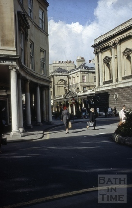 Stall Street and Bath Street corner, looking north 1967