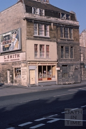 Upper Bristol Road Albion Place 1975
