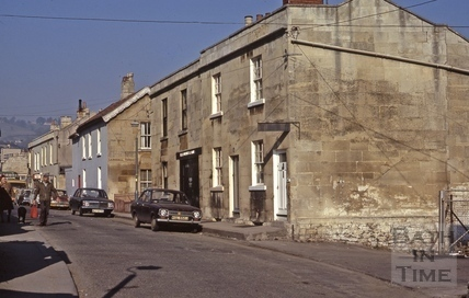 Upper Lambridge Street from the east. Larkhall 1973