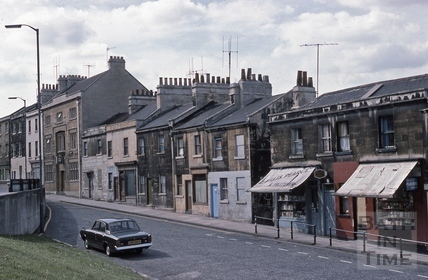 Wells Road north side 1975
