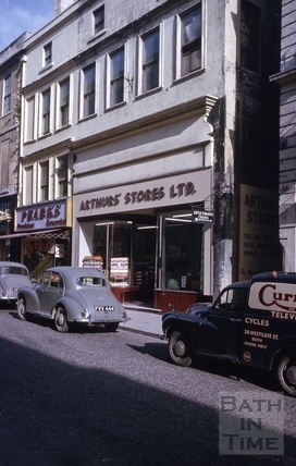 Westgate Street and St Michaels Place 1964