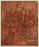 Virgin and Child appearing to Saint Petronius