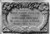 St Paul's Cathedral;The Crypt;Memorial to Philip Wilson Steer