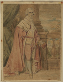 Portrait of a man in peer's robes
