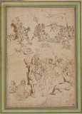 Studies for the 'Road to Calvary'