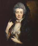 Portrait of Mrs Gainsborough