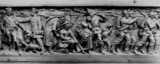 Copy of the frieze from the Germania monument