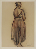 Femme debout (Standing woman)