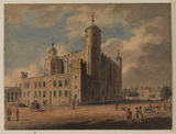 View of the White Tower, London