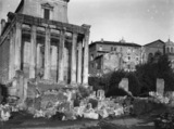 Roman Forum;Temple of Antoninus and Faustina