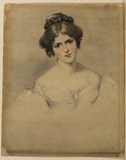 Portrait of Miss Fanny Kemble