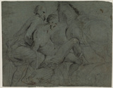 Study for 'The Good Samaritan' (National Gallery, London) (recto)