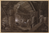 Interior of a forge