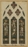 Design for a stained-glass window