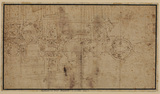 Design for a ceiling (verso)