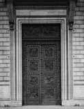 La Madeleine;Bronze door