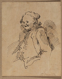 Caricature of a man (Caraceppi)