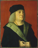 Portrait of Doctor Johann Wespach (recto)
