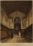 Interior of the Chapel of Jesus College, Oxford