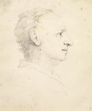 Profile portrait of John Richardson the Younger