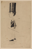 Boy in a high top-hat (recto)