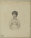 Portrait of a young lady - Miss Turner (?)
